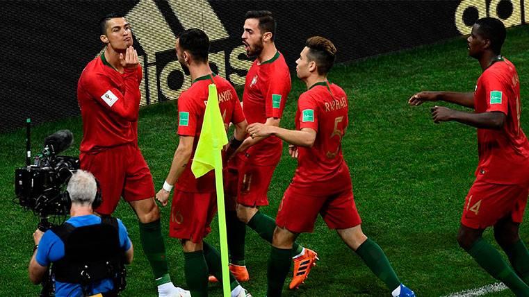 ¿Hubo mensaje oculto a Leo Messi en la celebración del penalti de Cristiano Ronaldo?