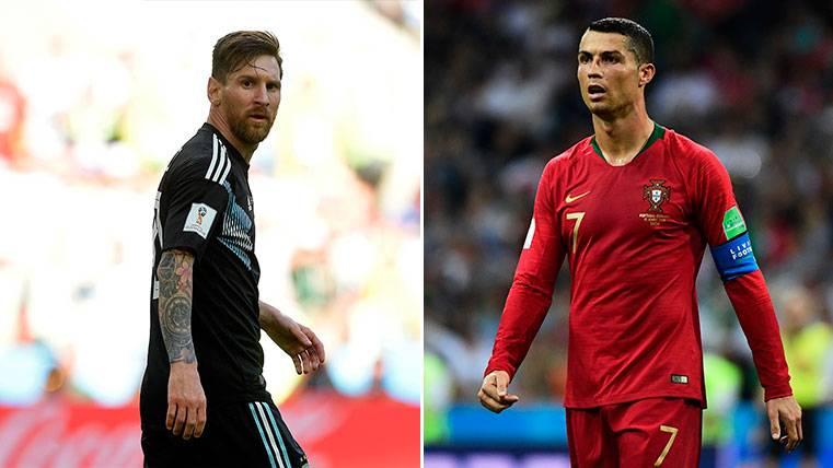 Patrice Evra critica a Leo Messi comparándole con Cristiano Ronaldo