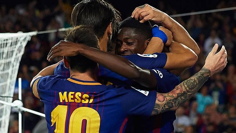 Xavi Hernández habla claro sobre Ousmane Dembélé y Leo Messi