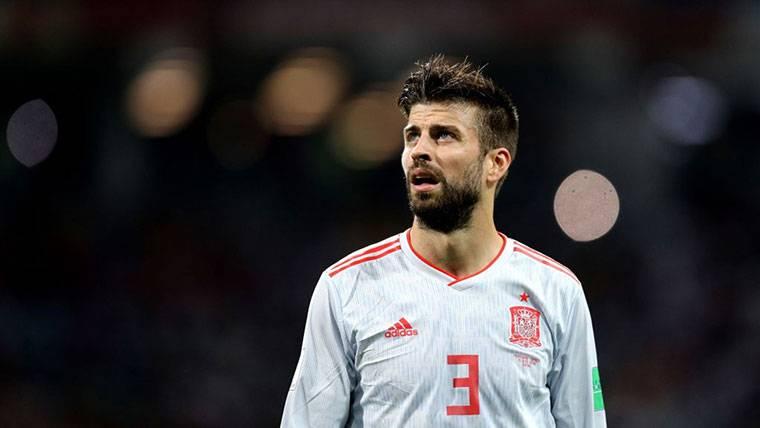 Piqué no dará marcha atrás y se retirará de España tras el Mundial