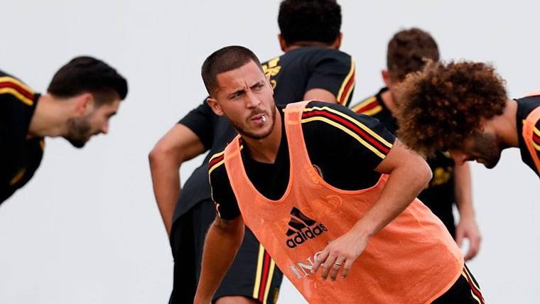 """Hazard se deja querer por el Real Madrid: """"Si quieren ficharme..."""""""