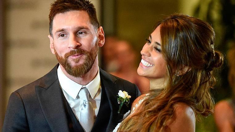 Leo Messi, arropado por un mensaje de apoyo de Antonella Roccuzzo
