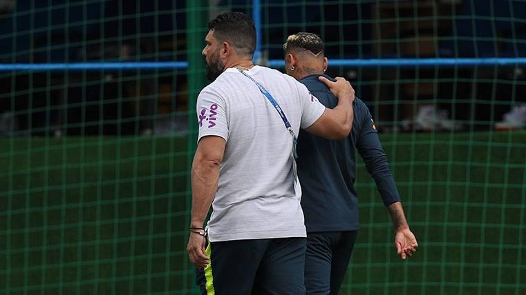 Neymar se retira del entreno y Brasil echa la culpa a Suiza