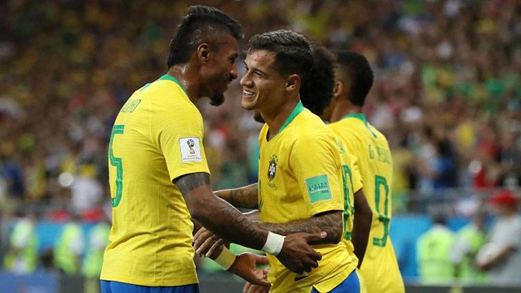 A falta de Neymar, Coutinho ya ejerce de líder para Brasil
