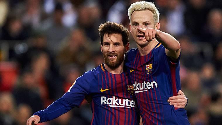 Ivan Rakitic defiende a Leo Messi con una advertencia sobre su futuro