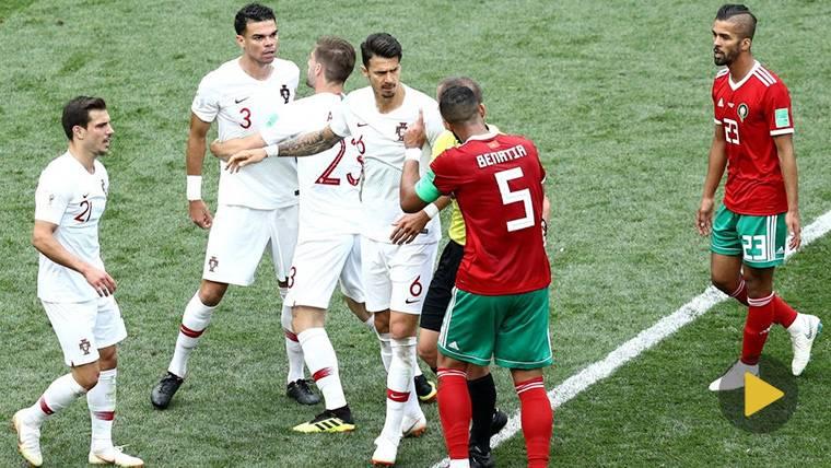 "Lineker, a Pepe tras fingir una agresión: ""Sigue siendo idiota"""