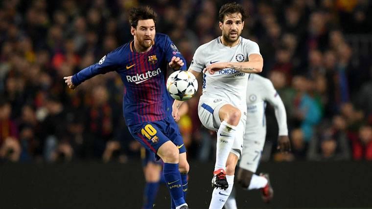 """Cesc narra su relación con Messi: """"Para mí, siempre será el mejor"""""""
