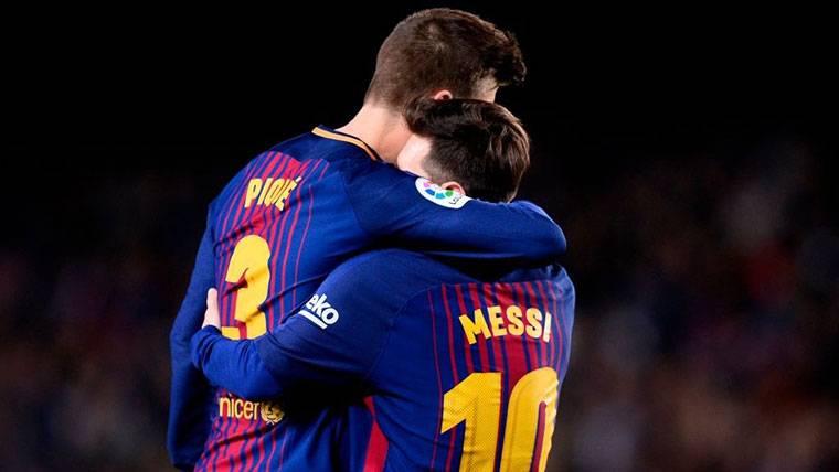 Piqué sale en defensa de Messi tras las críticas con Argentina