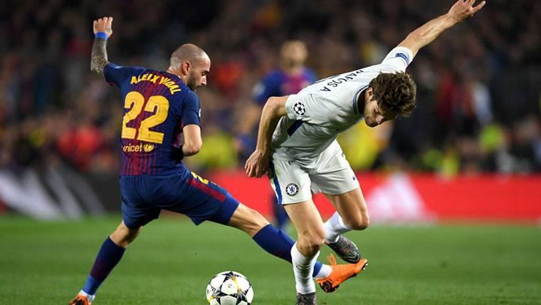 El Barça puede hacer negocio con el Nápoles por Aleix Vidal