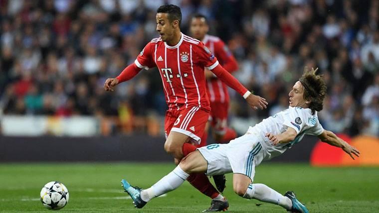 ¡Insisten en el fichaje de Thiago Alcántara por el Real Madrid!