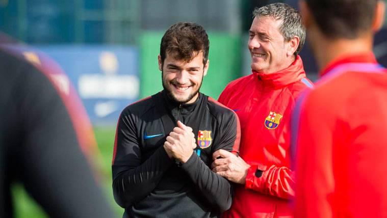 El Barça no se la jugará con José Arnáiz: Sólo se marcharía cedido