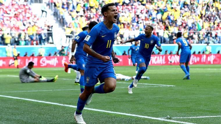 La humilde reacción de Coutinho tras el gol y el segundo 'MVP'