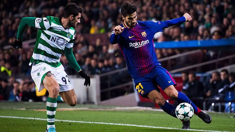 El fichaje de Fabián podría cerrar otra puerta a la salida de André Gomes del Barça