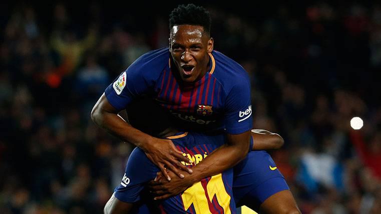 Reunión urgente entre el Barça y Yerry Mina cuando acabe el Mundial