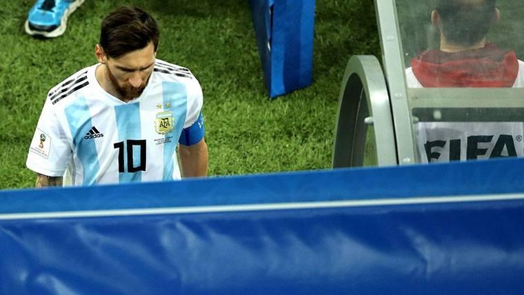 En Argentina cruzan la línea: ¡Piden dejar a Messi en el banco!
