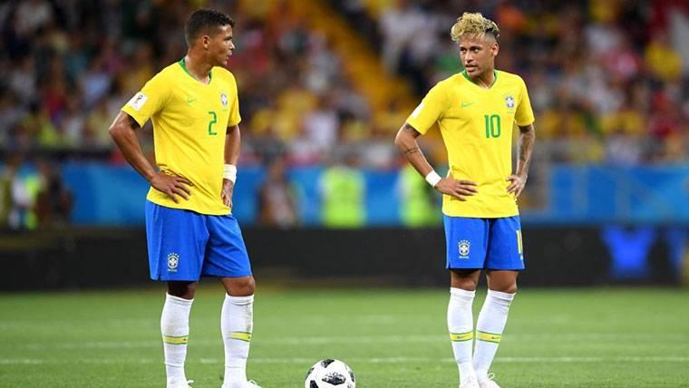 """Thiago Silva deja en evidencia a Neymar: """"Me insultó, y me quedé triste con su actitud"""""""