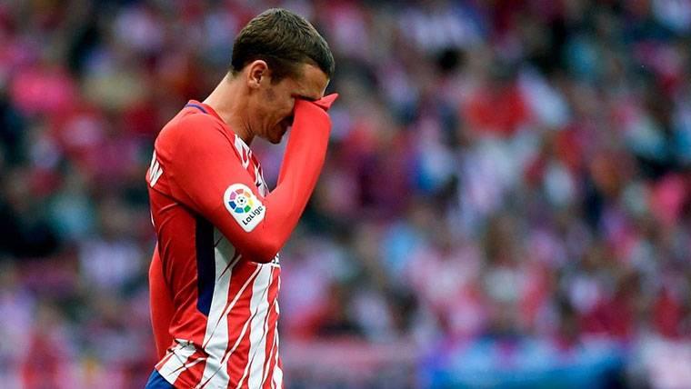 En Francia se alegran de que Griezmann no fiche por el Barça