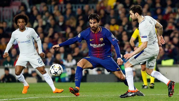 La nueva opción para que el Barça pueda desprenderse de André Gomes