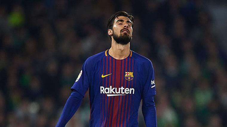 La postura oficial del Valencia sobre el retorno de André Gomes