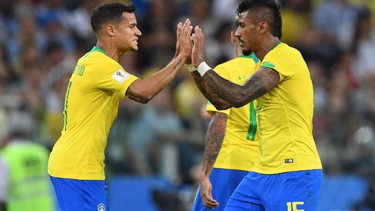 """Paulinho se sacude las críticas con fútbol: """"Hablo en el campo"""""""