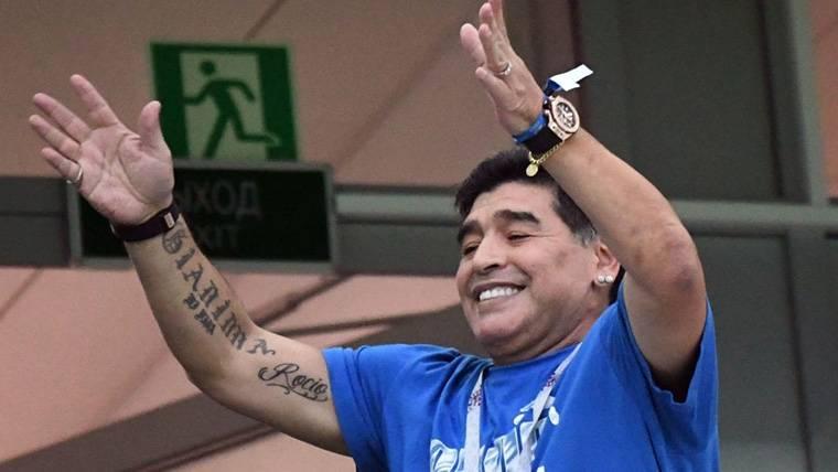 """Maradona insiste sobre Ramos: """"¡Para mí no es un crack!"""""""