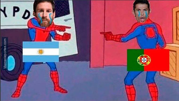 Los mejores 'memes' del Francia-Argentina y del Uruguay-Portugal