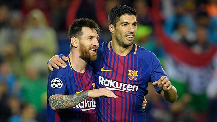 El mensaje de Luis Suárez a Leo Messi tras su eliminación