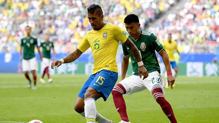 Aseguran que Paulinho estaría al corriente de la oferta que ha recibido el Barça