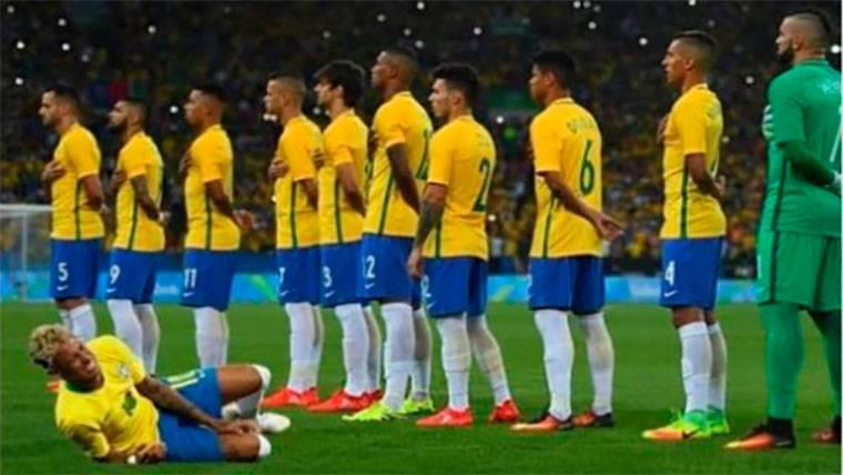 Los mejores 'memes' de las caídas de Neymar ante México