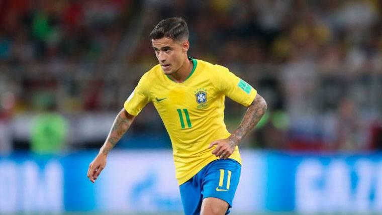 El mensaje de Philippe Coutinho después del Brasil-México