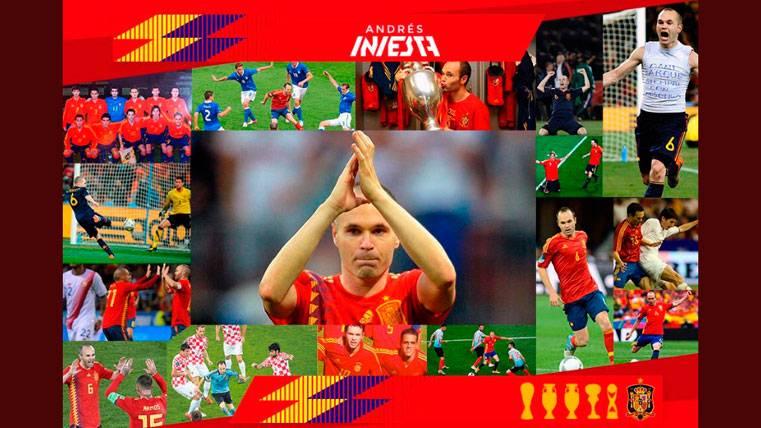La emotiva carta de despedida de Andrés Iniesta a la selección española