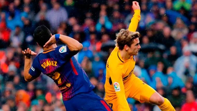 El merecido 'dardo' de Luis Suárez a Antoine Griezmann