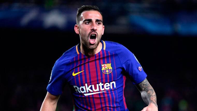 El FC Barcelona tiene definida la estrategia con Paco Alcácer