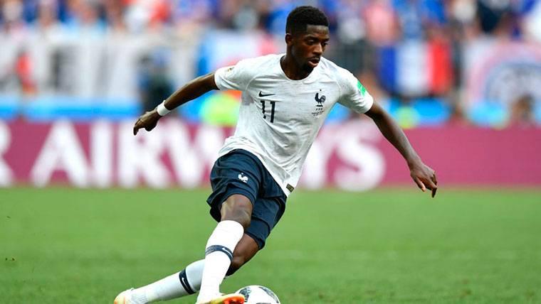 Ousmane Dembélé sigue sin tener protagonismo con Francia
