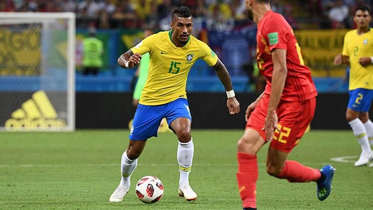 La respuesta de Paulinho a las especulaciones sobre su futuro