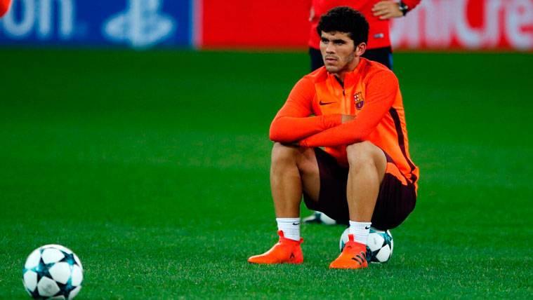 Ernesto Valverde, pendiente de las lesiones de Carles Aleñá y Oriol Busquets
