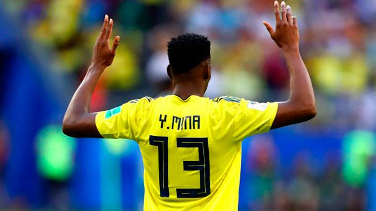 BOMBA: ¡Mourinho quiere a Yerry Mina en el Manchester United!