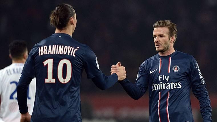 David Beckham le gana a Zlatan Ibrahimovic la apuesta más surrealista del Mundial