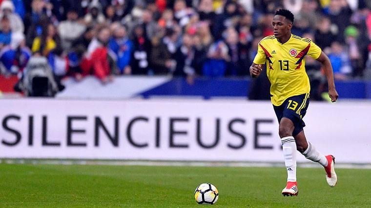 Yerry Mina, uno de los jugadores más valorados