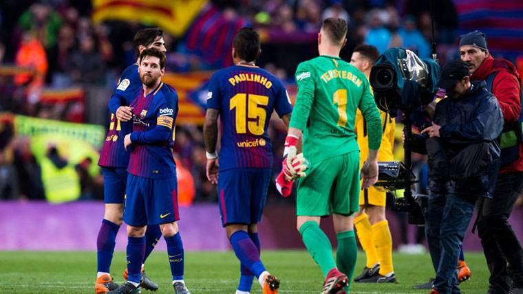 Paulinho Bezerra, durante un partido con el FC Barcelona