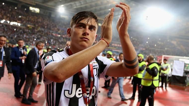 Paulo Dybala, después de conquistar un título con la Juventus de Turín