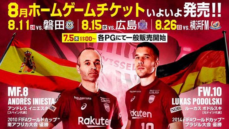 Ya hay fecha para el debut de Andrés Iniesta con el Vissel Kobe