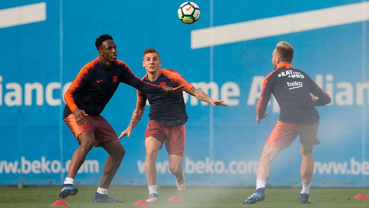 El Everton aparece para llevarse a Digne y Yerry Mina del Barça