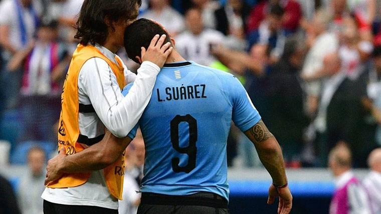 Luis Suárez podría no haber llegado al 100% al Mundial