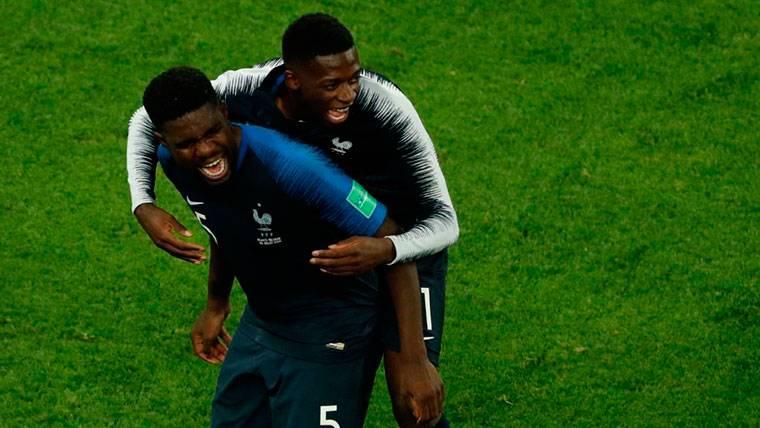 Umtiti y Ousmane Dembélé suman su primer Mundial
