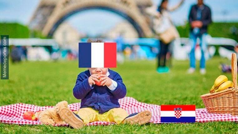 Estos son los mejores 'memes' del Francia-Croacia del Mundial