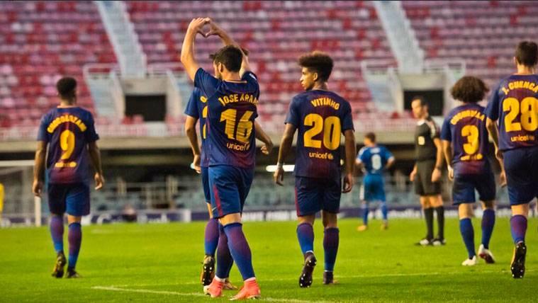 El Girona estaría interesado en cerrar dos fichajes en el filial del Barça
