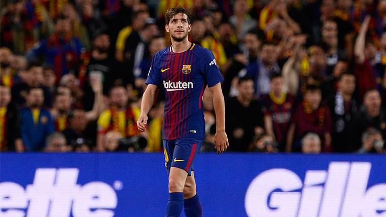El TAD tampoco perdona a un Sergi Roberto que se queda fuera de la Supercopa de España