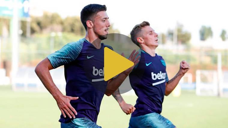 Máxima intensidad en el Barça para ponerse a punto para la gira americana