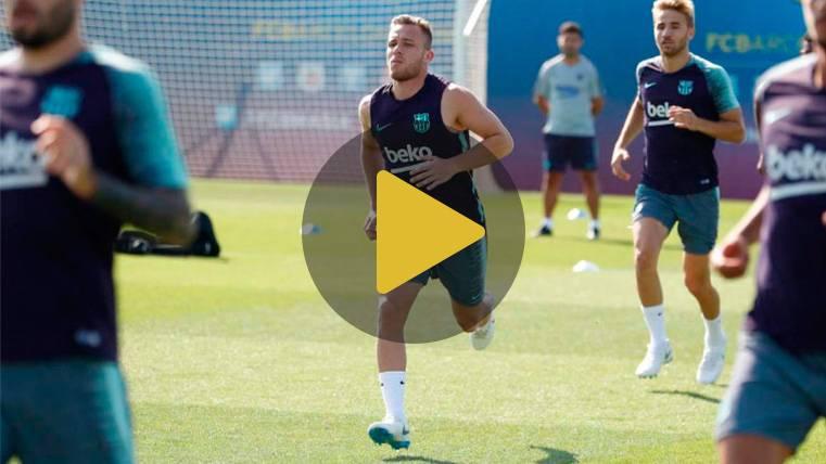 La sorpresa que se ha llevado Arthur con la pretemporada del Barça